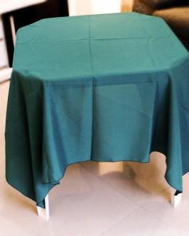 Aluguel toalha quadrada verde