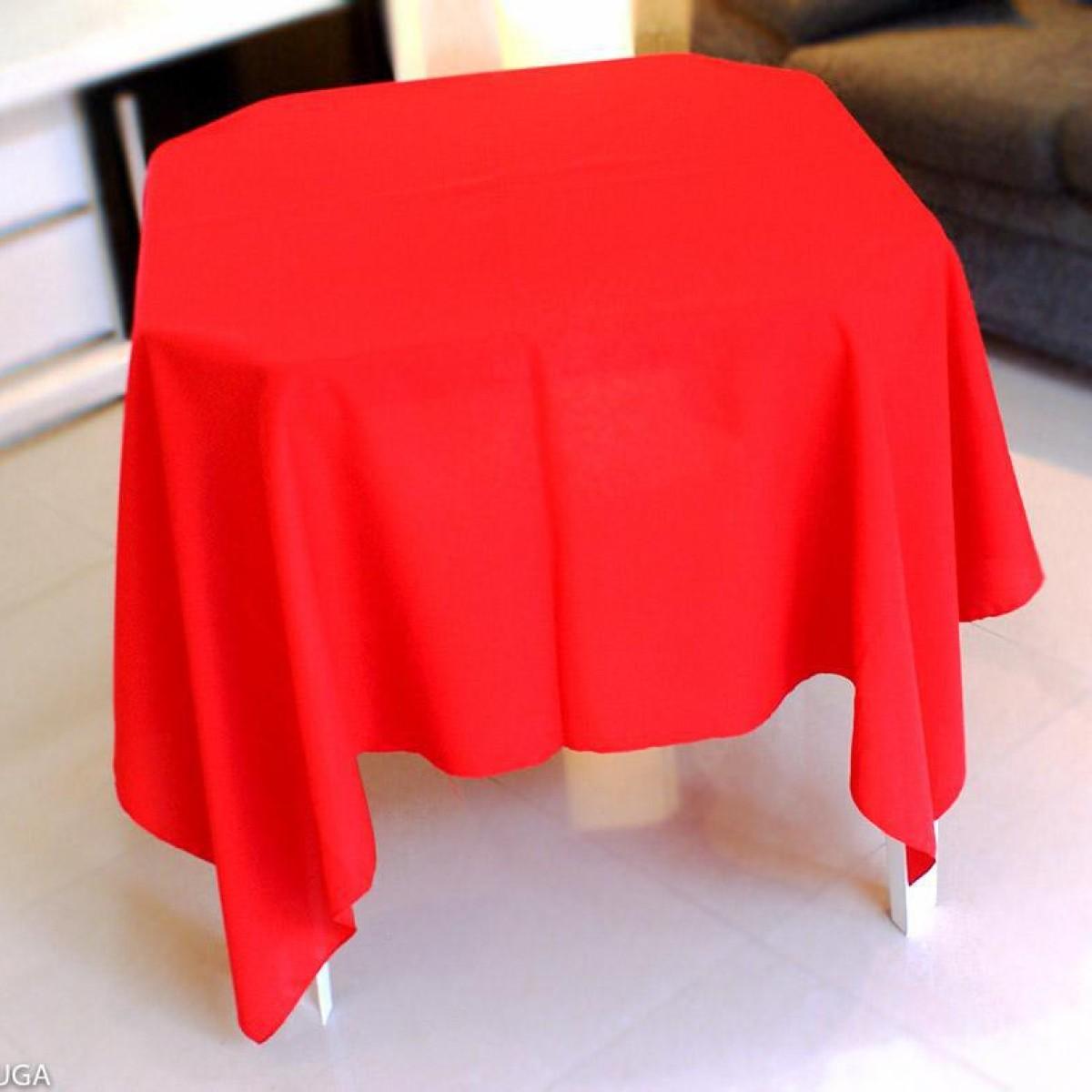 Detalhes do produto Aluguel toalha quadrada vermelha