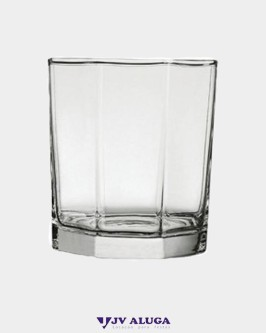 Aluguel copo de vidro geometria rocks