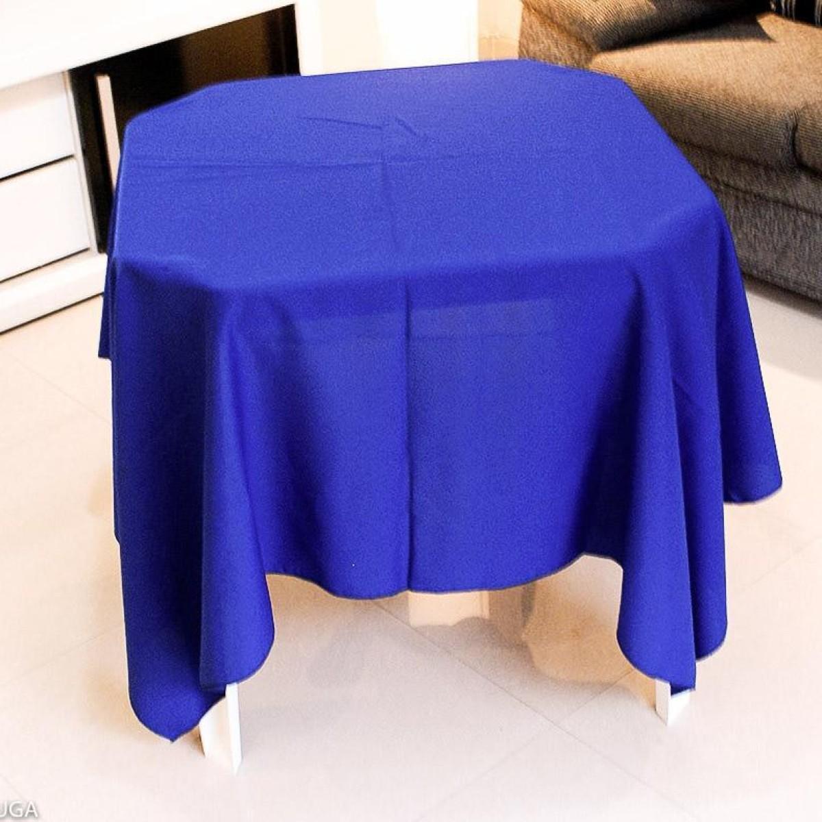 Detalhes do produto Aluguel de toalha quadrada azul