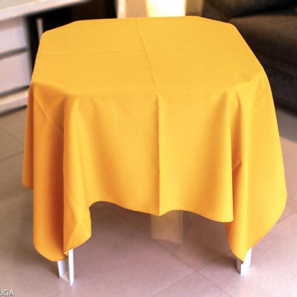 Detalhes do produto Aluguel de toalha quadrada amarela