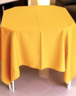 Aluguel de toalha quadrada amarela