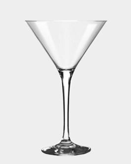 Aluguel taça de vidro para martini