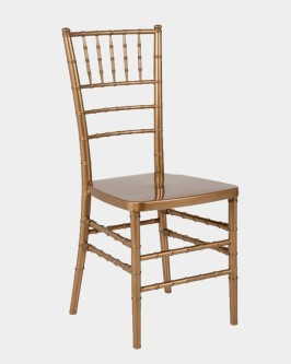 Aluguel Cadeira Tiffany Dourado Bronze - Foto 1