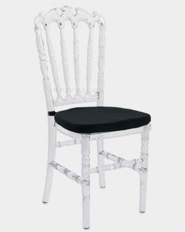 Aluguel Cadeira Royal Cristal - Foto 1