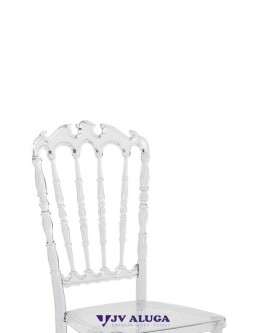 Aluguel Cadeira Royal Cristal - Foto 2