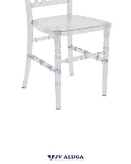 Aluguel Cadeira Royal Cristal - Foto 3