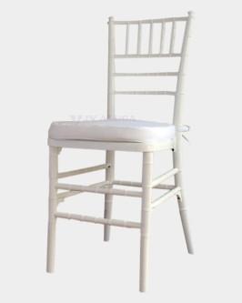 Aluguel Cadeira Tiffany Branca - Foto 1