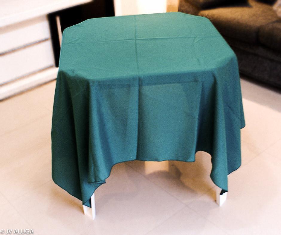Detalhes do produto Aluguel toalha quadrada verde