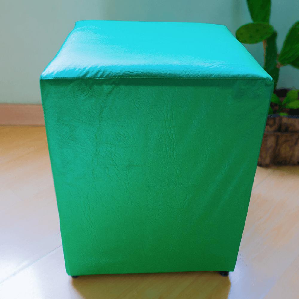Detalhes do produto Aluguel Puff Quadrado Tradicional Verde