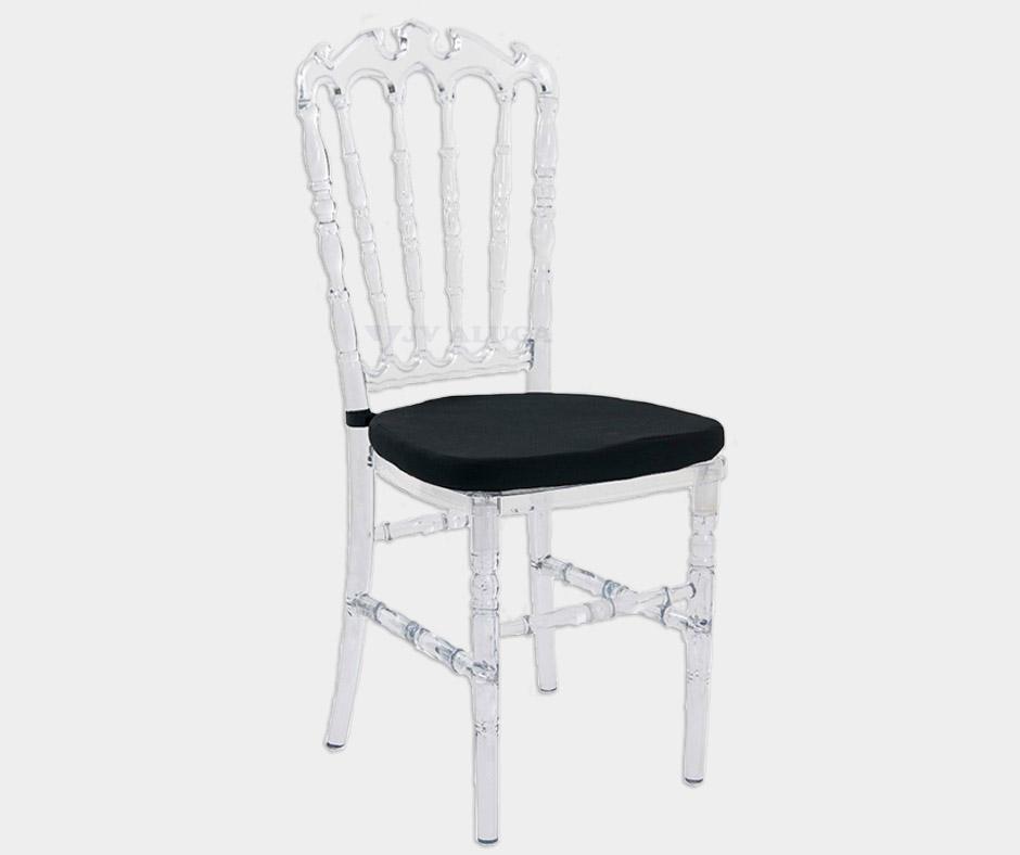 Detalhes do produto Aluguel Cadeira Royal Cristal