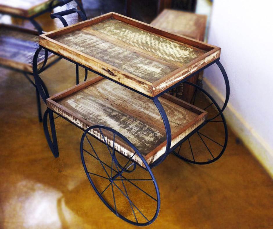 Detalhes do produto Aluguel carrinho de chá