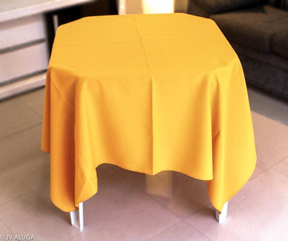Toalha Quadrada Amarela